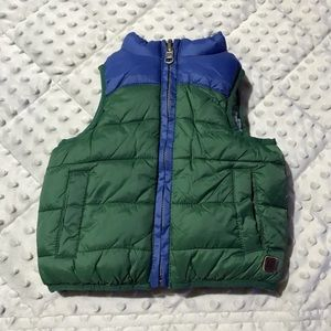 Janie and Jack puffer vest
